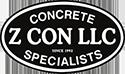 Z Con Concrete | Commercial Concrete Contractor Logo